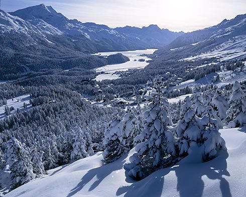 St Moritz has the longest ski season in Switzerland